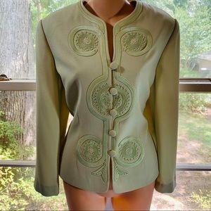 Adrianna Papell Suit Jacket Blazer Size 12 Mint